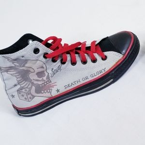 Converse high top Sailor Jerry death or glory !